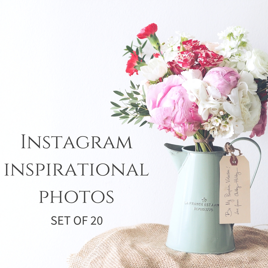 Instagram Inspirational Photos - Set of 20