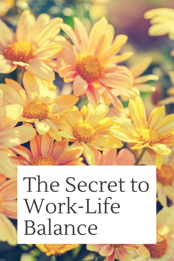 The Secret to Work-Life Balance - BrandiJordan.com